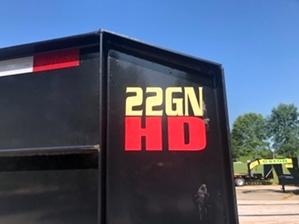 25ft Used Big Tex Gooseneck Trailer