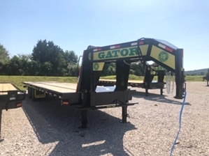 Gooseneck Trailer With Hydraulic Dovetail For Sale  Gooseneck Trailer With Hydraulic Dovetail For Sale. Hydratail Gooseneck Trailer.
