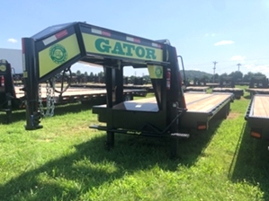 25 and 5 Gooseneck Trailer With Disc Brakes  25 and 5 Gooseneck Trailer With Disc Brakes. Dual Tandem with Disc Brakes.