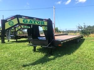 35ft Flatbed Gooseneck For Sale  35ft Flatbed Gooseneck For Sale. Hotshotting Trailer.