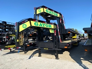 Gooseneck Trailer With Largest Carrying Capacity  Gooseneck Trailer With Largest Carrying Capacity. Largest GVW available in a gooseneck trailer. 37,500 pound GVWR and 15k dexter axles.