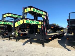 Gooseneck Trailer 37500 GVWR  Gooseneck Trailer 37500 GVWR. 40ft flatbed with 37,500 GVW, king pin coupler, and dexter axles with 5 year warranty.