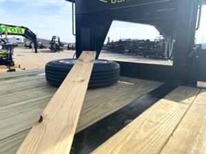 Gooseneck Trailer Deck On Neck