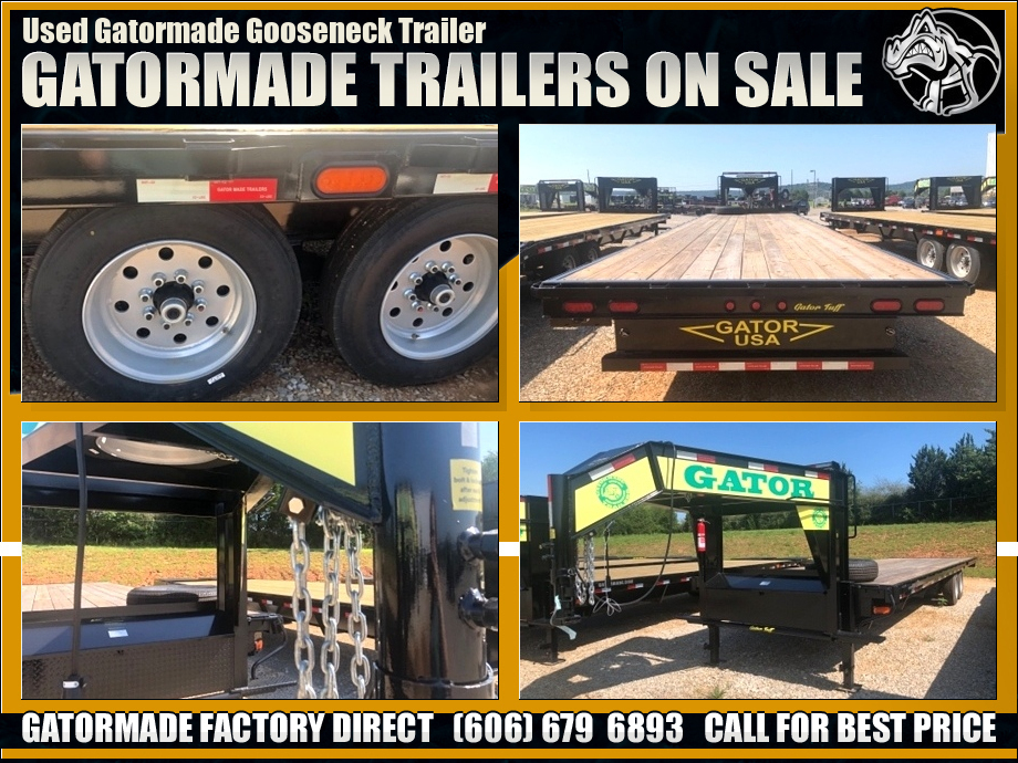 Used Gooseneck Trailer